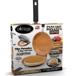 Gotham Steel Double Pan – Copper Easy to Flip Pan
